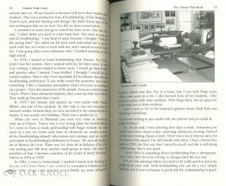 THE THREAD THAT BINDS: INTERVIEWS WITH PRIVATE PRACTICE BOOKBINDERS.