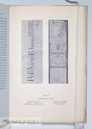 BIBLIOGRAPHIA STUDIES IN BOOK HISTORY AND BOOK STRUCTURE 1750-1900