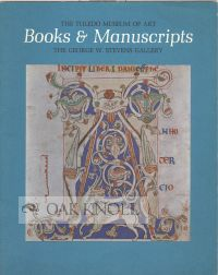 BOOKS & MANUSCRIPTS
