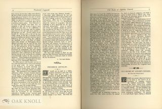 BIBLIOGRAPHER, A JOURNAL OF BOOK-LORE (THE)