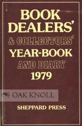BOOK DEALERS' & COLLECTORS' YEAR-BOOK AND DIARY 1979.