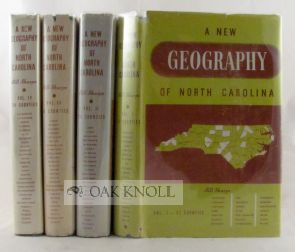 A NEW GEOGRAPHY OF NORTH CAROLINA