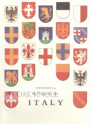 ITALY, A SELECTION OF BOOKS, MANUSCRIPTS, AND DOCUMENTS FROM SIX CENTURIES...