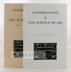 CONSERVATION & THE SCIENCE OF ART