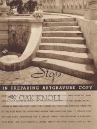 STEPS IN PREPARING ARTGRAVURE COPY