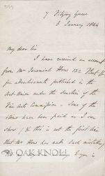 Letter from Charles Lock Eastlake to J.C. Hall