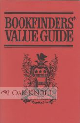 BOOKBINDERS' VALUE GUIDE. Thomas Page Sullivan