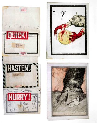 THE SILENT SCREAM: POLITICAL AND SOCIAL COMMENT IN BOOKS BY ARTISTS.