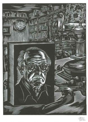 FACE TO FACE. TWELVE CONTEMPORARY AMERICAN ARTISTS INTERPRET THEMSELVES IN A LIMITED EDITION OF ORIGINAL WOOD ENGRAVINGS.