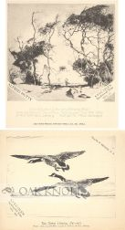 SPECIMEN/TRADE CARDS FOR BOOK OF ETCHINGS
