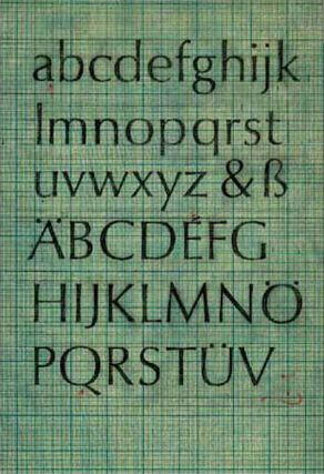 ABOUT MORE ALPHABETS: THE TYPES OF HERMANN ZAPF