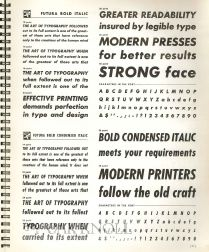 TYPO TYPE SPECIMENS.