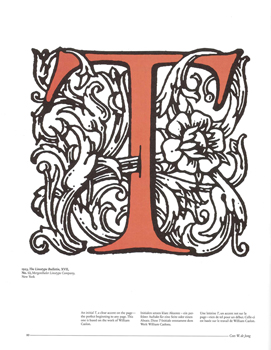 A VISUAL HISTORY OF TYPEFACES AND GRAPHIC STYLES, VOLUME 1. 1628-1900.