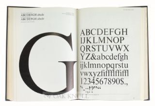 TYPE AND TYPOGRAPHY, THE DESIGNER'S TYPE BOOK