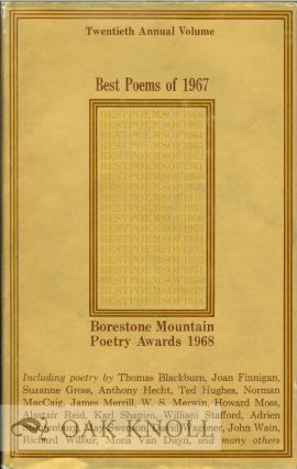 BEST POEMS OF 1967. BORESTONE MOUNTAIN POETRY AWARDS 1968