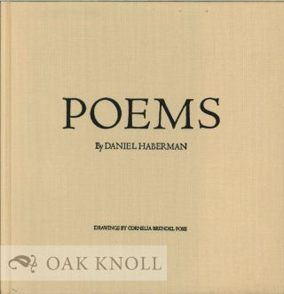 POEMS. DRAWINGS BY CORNELIA BRENDEL FOSS. Daniel Haberman