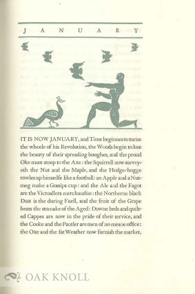 TWELVE MONETHS AND CHRISTMAS DAY FROM 'FANTASTICKES'.
