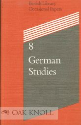 GERMAN STUDIES: BRITISH RESOURCES. David Paisey