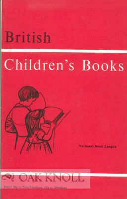 BRITISH CHILDREN'S BOOKS.