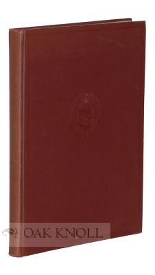 "A CHECKLIST OF AMERICAN COPIES OF ""SHORT-TITLE CATALOGUE"" BOOKS. William Warner Bishop"