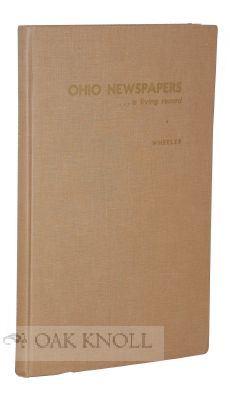 OHIO NEWSPAPERS A LIVING RECORD