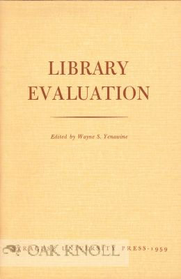 LIBRARY EVALUATION