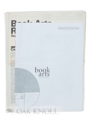 BOOK ARTS REVIEW