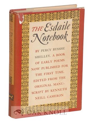 THE ESDAILE NOTEBOOK, A VOLUME OF EARLY POEMS