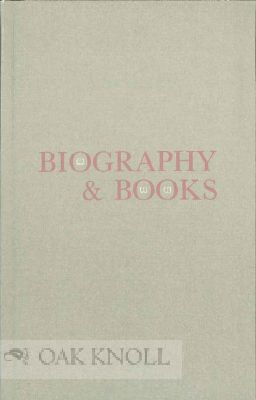 BIOGRAPHY AND BOOKS. John Y. Cole