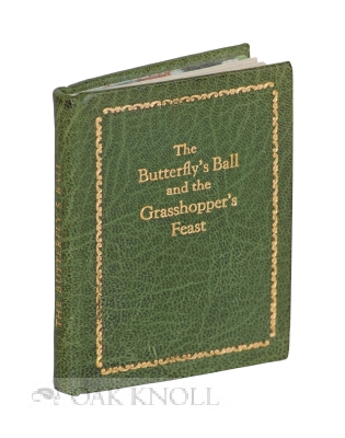 BUTTERFLY'S BALL AND GRASSHOPPER'S FEAST. William Roscoe