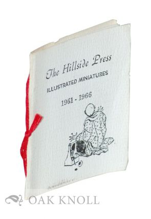THE HILLSIDE PRESS: ILLUSTRATED MINIATURES 1961-1966.