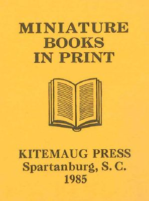 MINIATURE BOOKS IN PRINT