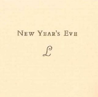 PARAGRAPHS FROM NEW YEAR'S EVE. Charles Lamb