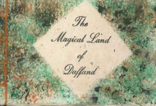 THE MAGICAL LAND OF DAFFAND, AN ORIGINAL POEM.