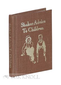 SHAKER ADVICE TO CHILDREN ON BEHAVIOR AT TABLE