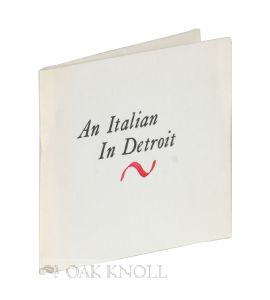AN ITALIAN IN DETROIT.