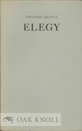 AN ELEGY WRITTEN IN A COUNTRY CHURCH-YARD & OTHER POEMS