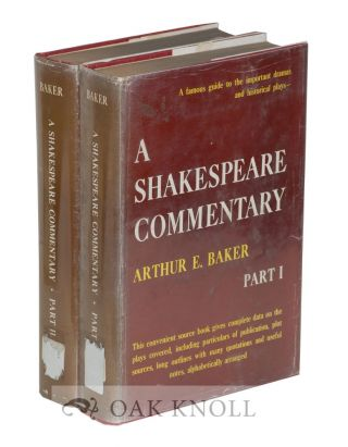 A SHAKESPEARE COMMENTARY.