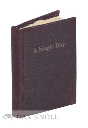 A SINGLE DAY. Gary Young