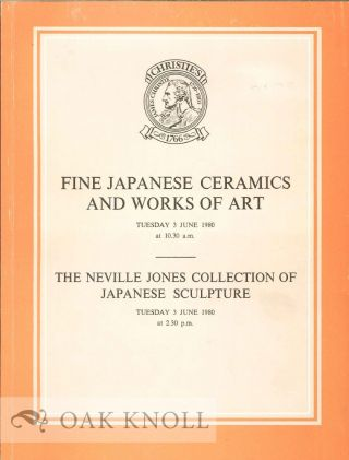 JAPANESE PORCELAIN, POTTERY, SCULPTURE, FURNITURE, LACQUER, SHIBAYAMA-STYLE WARES, BRONZES AND...