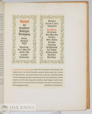 THE FLEURON, A JOURNAL OF TYPOGRAPHY.