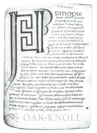 IRISH HAND: SCRIBES AND THEIR MANUSCRIPTS FROM THE EARLIEST TIMES TO THE SEVENTEENTH CENTURY WITH AN EXEMPLAR OF IRISH SCRIPTS.