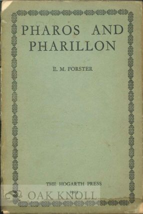 PHAROS AND PHARILLON. E. M. Forster