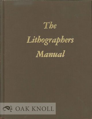THE LITHOGRAPHERS MANUAL. Raymond N. Blair