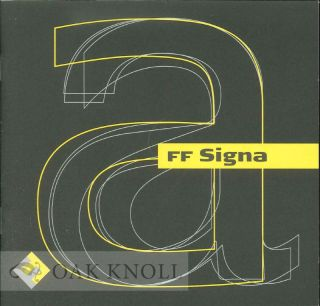 FF SIGNA. Phil's Fonts