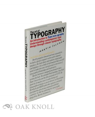ART OF TYPOGRAPHY, AN INTRODUCTION TO TYPO.ICON.OGRAPHY. Martin Solomon