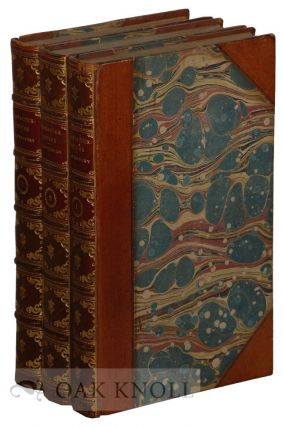 CHARACTERISTICKS OF MEN, MANNERS, OPINIONS, TIMES. IN THREE VOLUMES. Anthony Ashley Cooper, Earl of Shaftesbury.