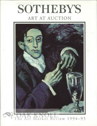 SOTHEBY'S ART AT AUCTION, THE ART MARKET REVIEW 1994-95