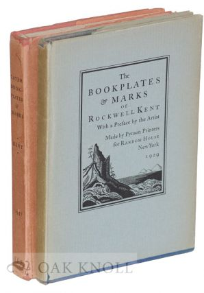 BOOKPLATES & MARKS OF ROCKWELL KENT. With THE LATER BOOKPLATES & MARKS OF ROCKWELL KENT.