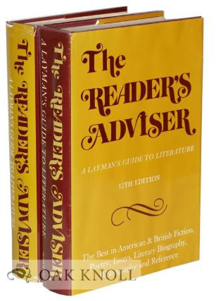 THE READER'S ADVISER, A GUIDE TO THE BEST IN LITERATURE. Sarah L. Prakken